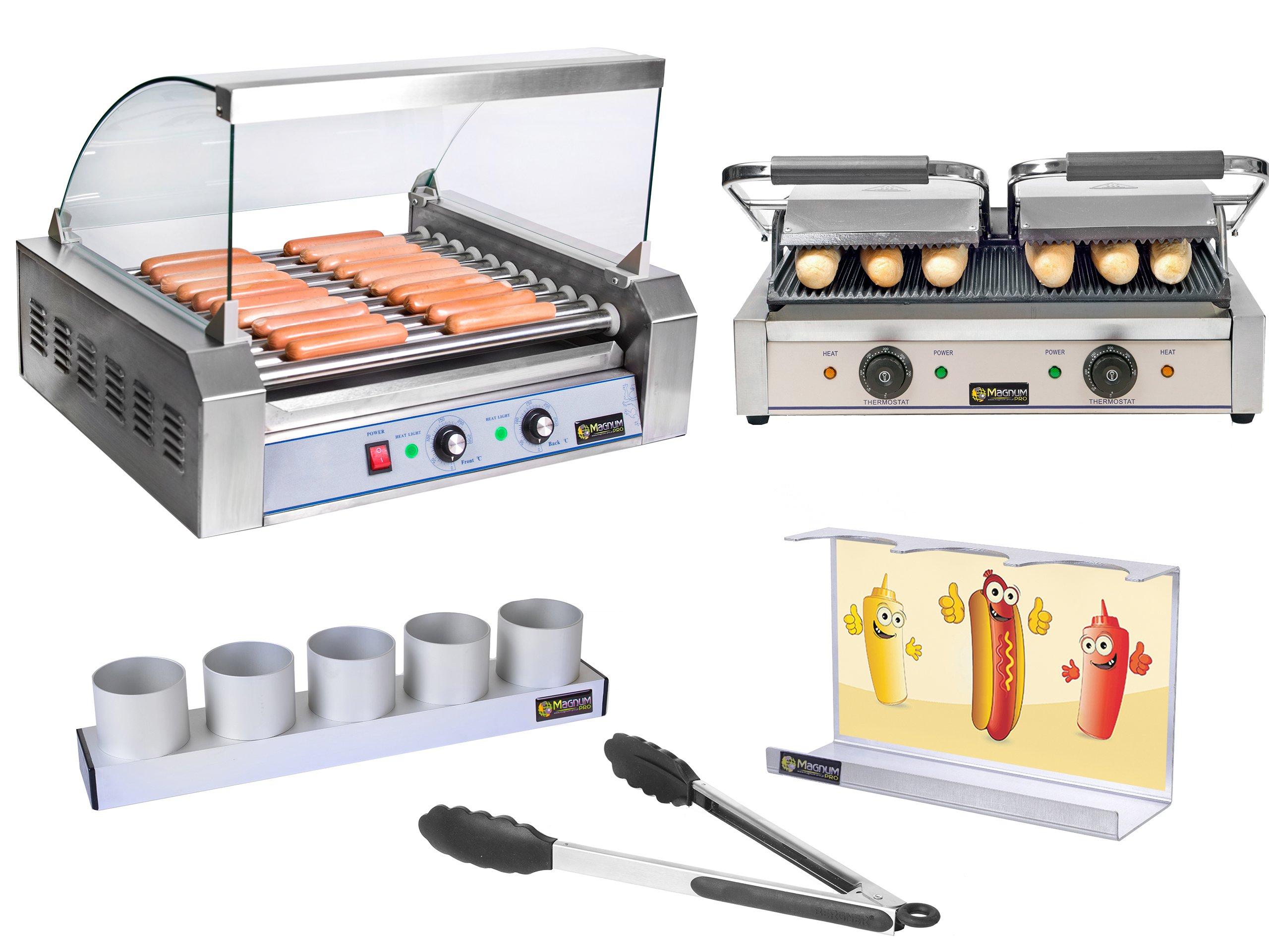 Hot-Dog Kit kúrenie + Grill + príslušenstvo