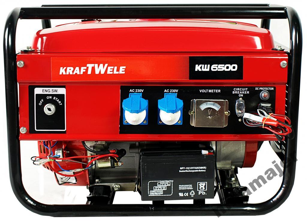 Výkonový generátor 4,8KVA / 230V / AVR KRAFT WIELE