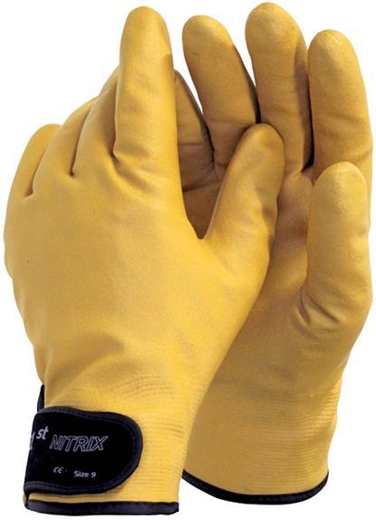 Рабочие перчатки ВОДОНЕПРОНИЦАЕМЫЕ УТЕПЛЕННЫЕ Nitrix r:10