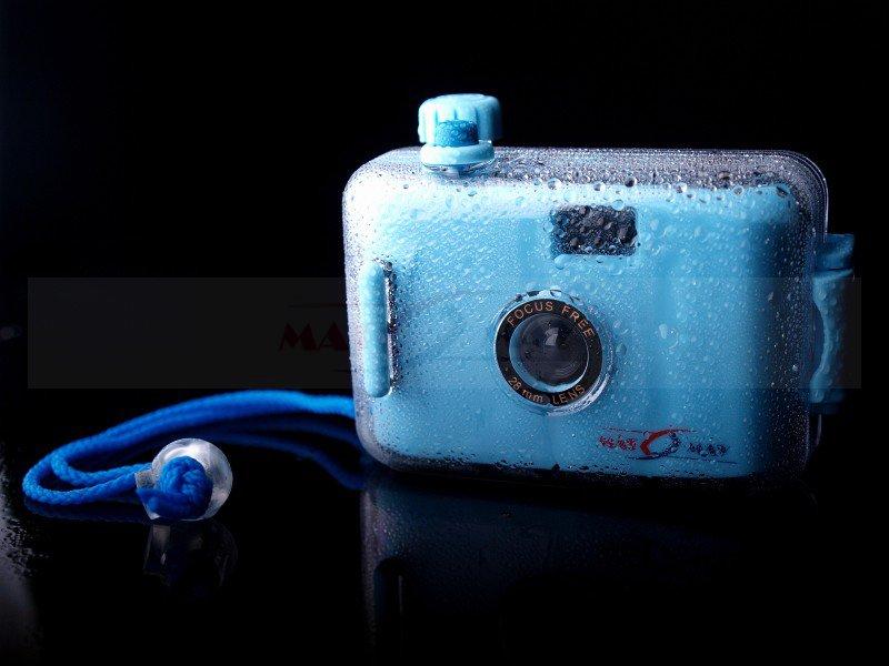 Nová vodotesná multifunkcia fotoaparátu 3 farby fvat