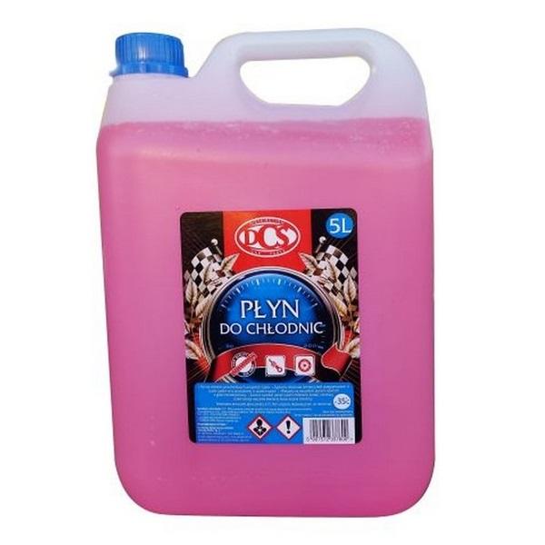 DCS смешивается жидкость для радиаторов розовый -35 5Л