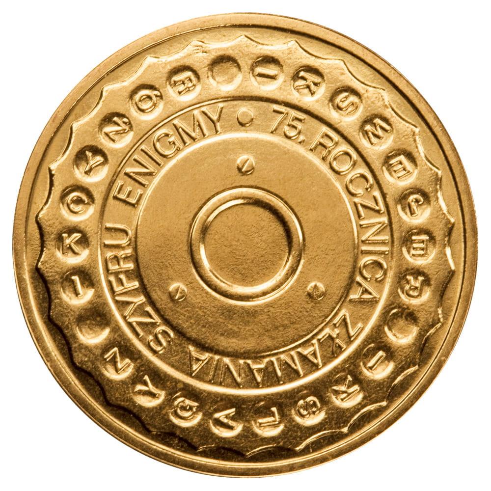 Монета 2 злотых Enigma