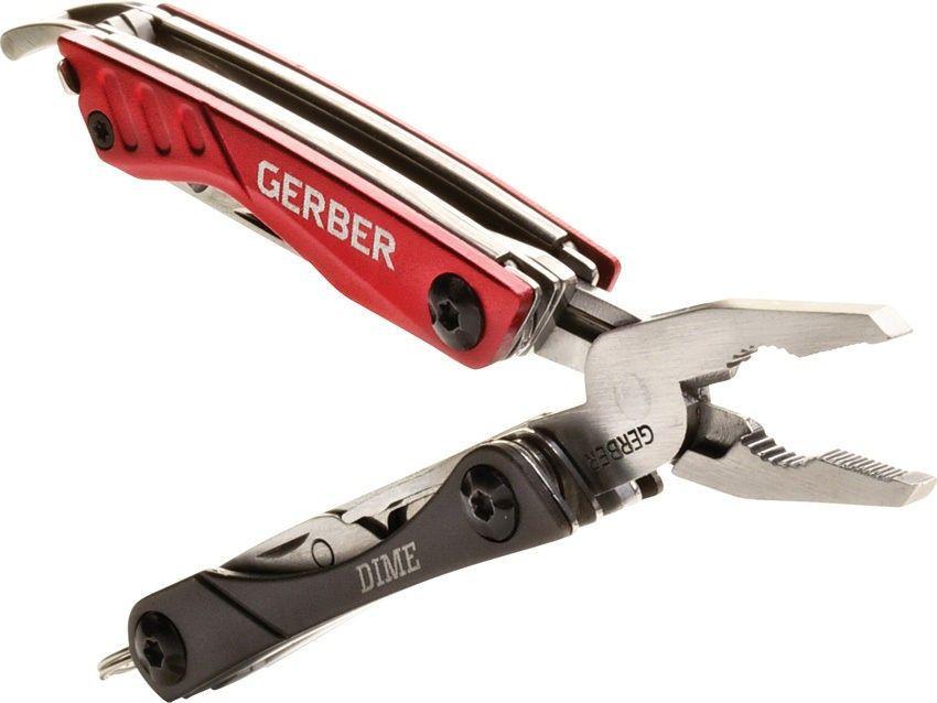 Multitool GERBER DIME RED EDC nóż wielofunkcyjny