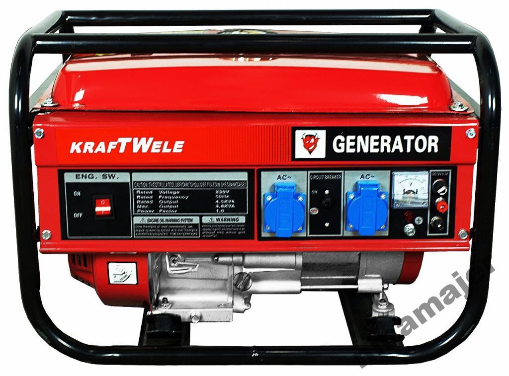 Výkonový generátor 4,5KVA / 230V / AVR KRAFT WIELE