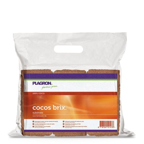 Plagon Cocos Brix 9L Cokos Coconut Substrát