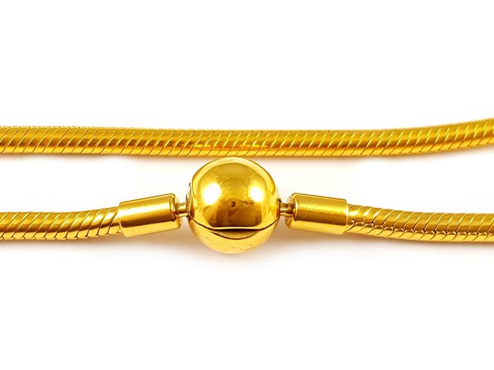 Rybárskej linky náhrdelník charms KORÁLKY 925 sterling silver
