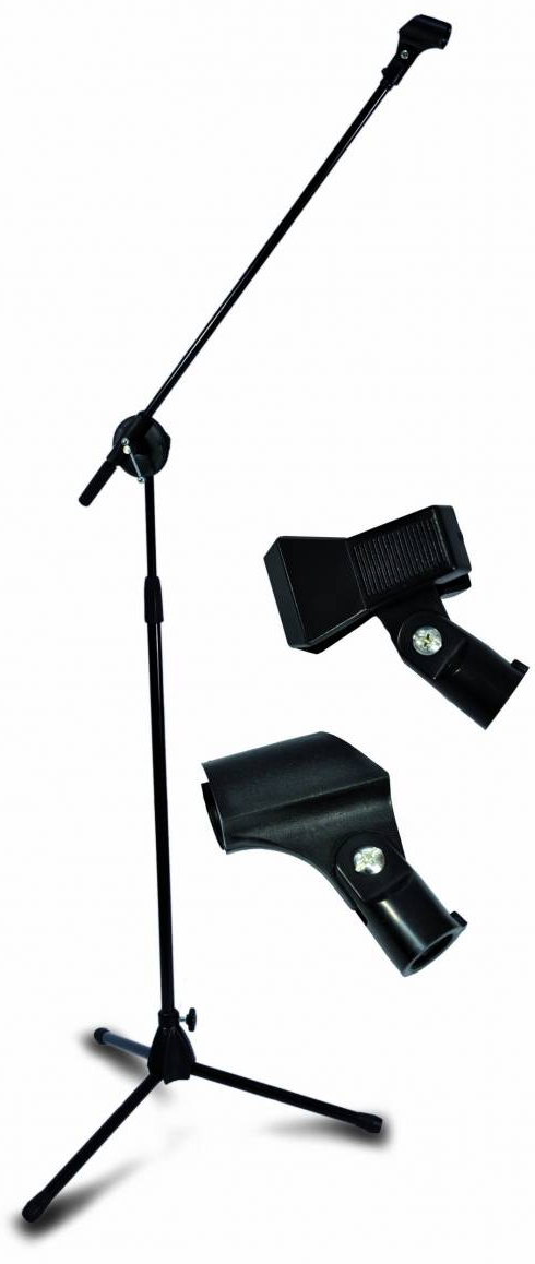 Item Tripod stand microphone GMS-08 + 2 handles