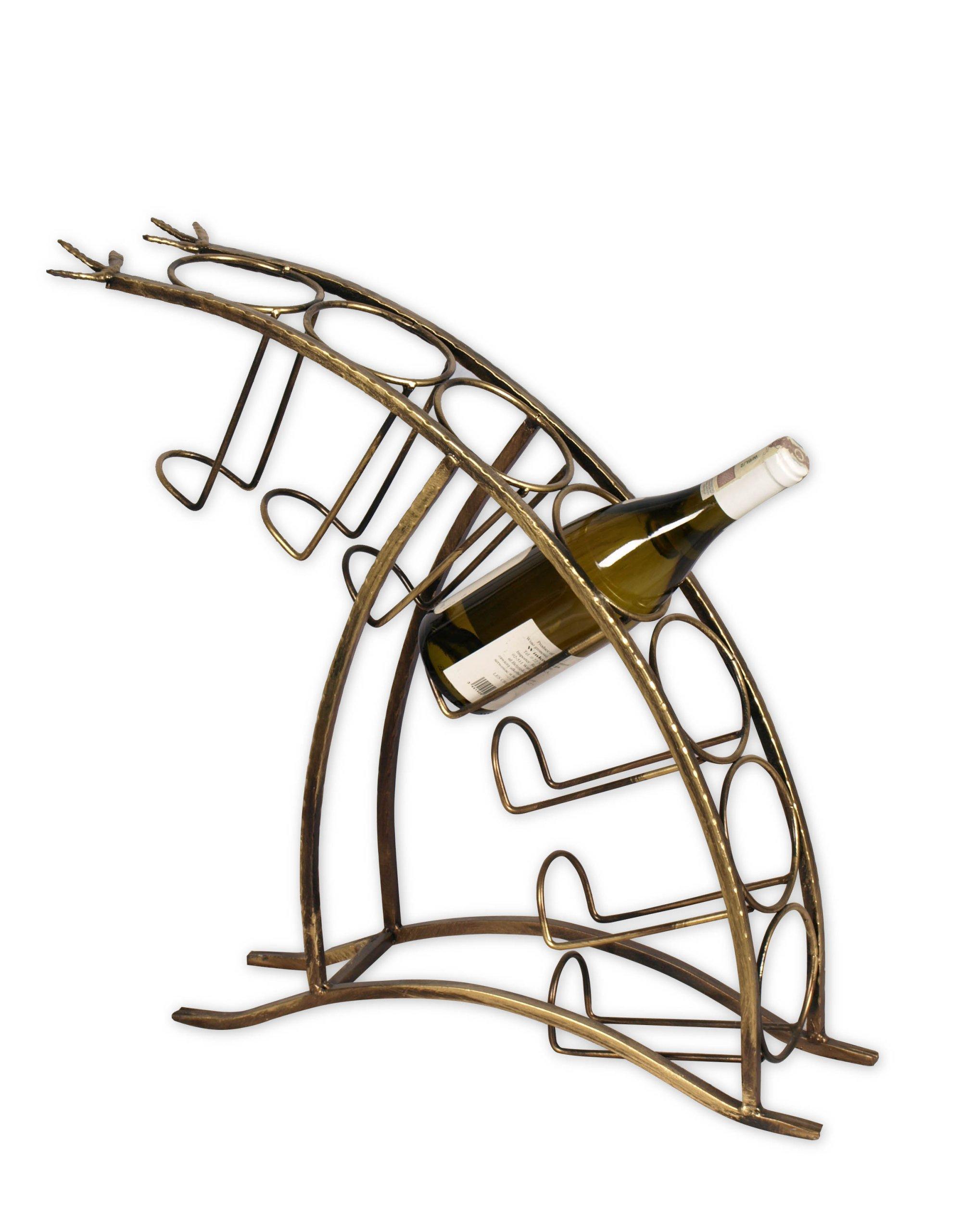 Nábytok Stojan na víno na 7 fľašiach Metaloplastika