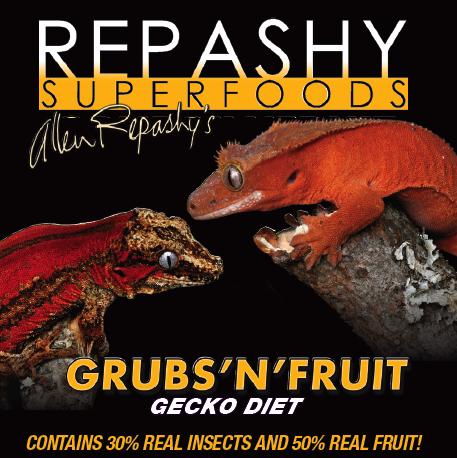 Repashy Grubs'n'ovocné Gecko Stravy 85 g