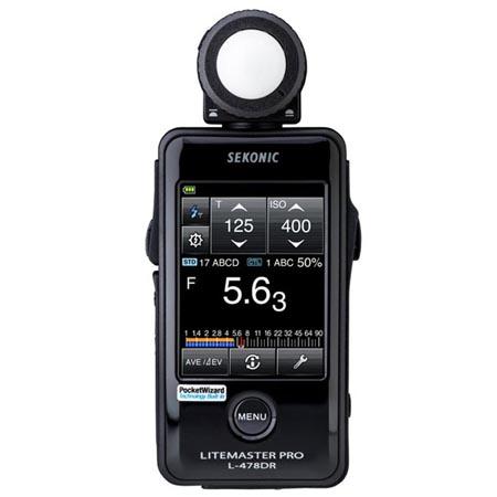 Sekonic L-478DR PocketWizard Inst.pl W-WA FV