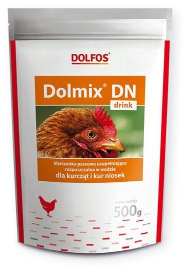 Dolmix DN Коктейль витамин для воды куры-несушки 500g