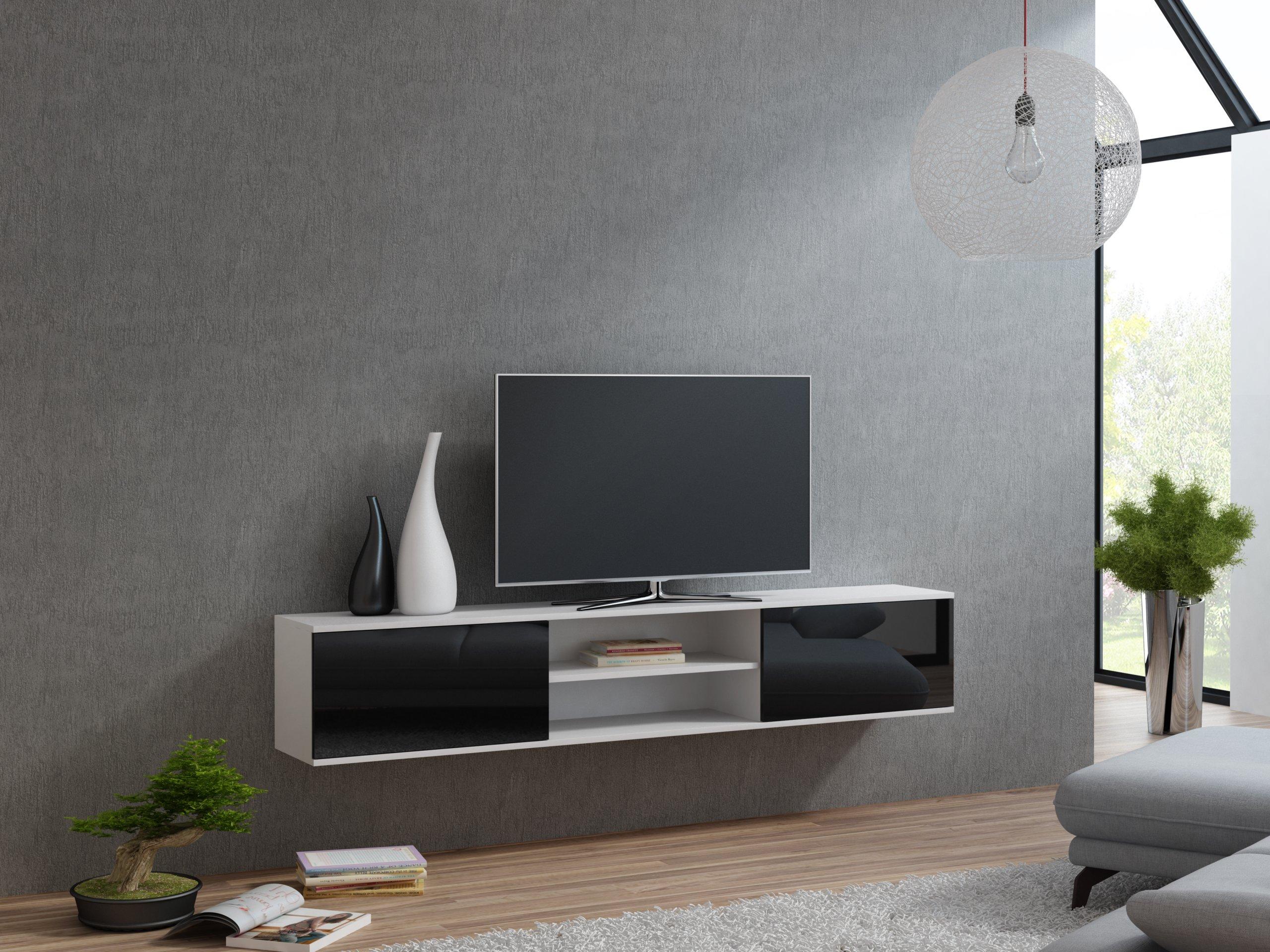 подвесные полки под телевизор фото перемешать сформировать