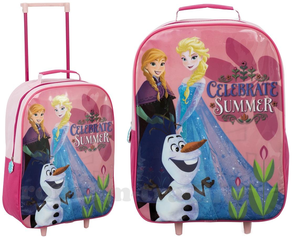 FROZEN Frozen Elsa DISNEY kufor na kolieskach