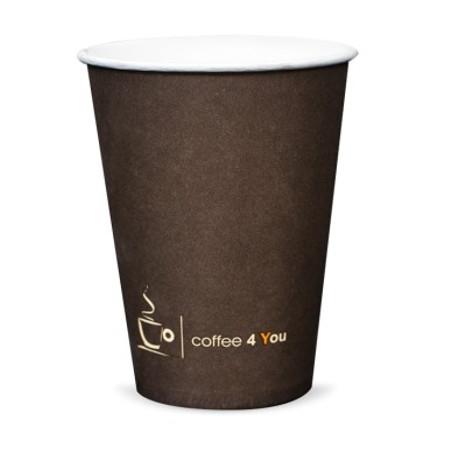 Papierové poháre bronz 100ml 100 espresso ks
