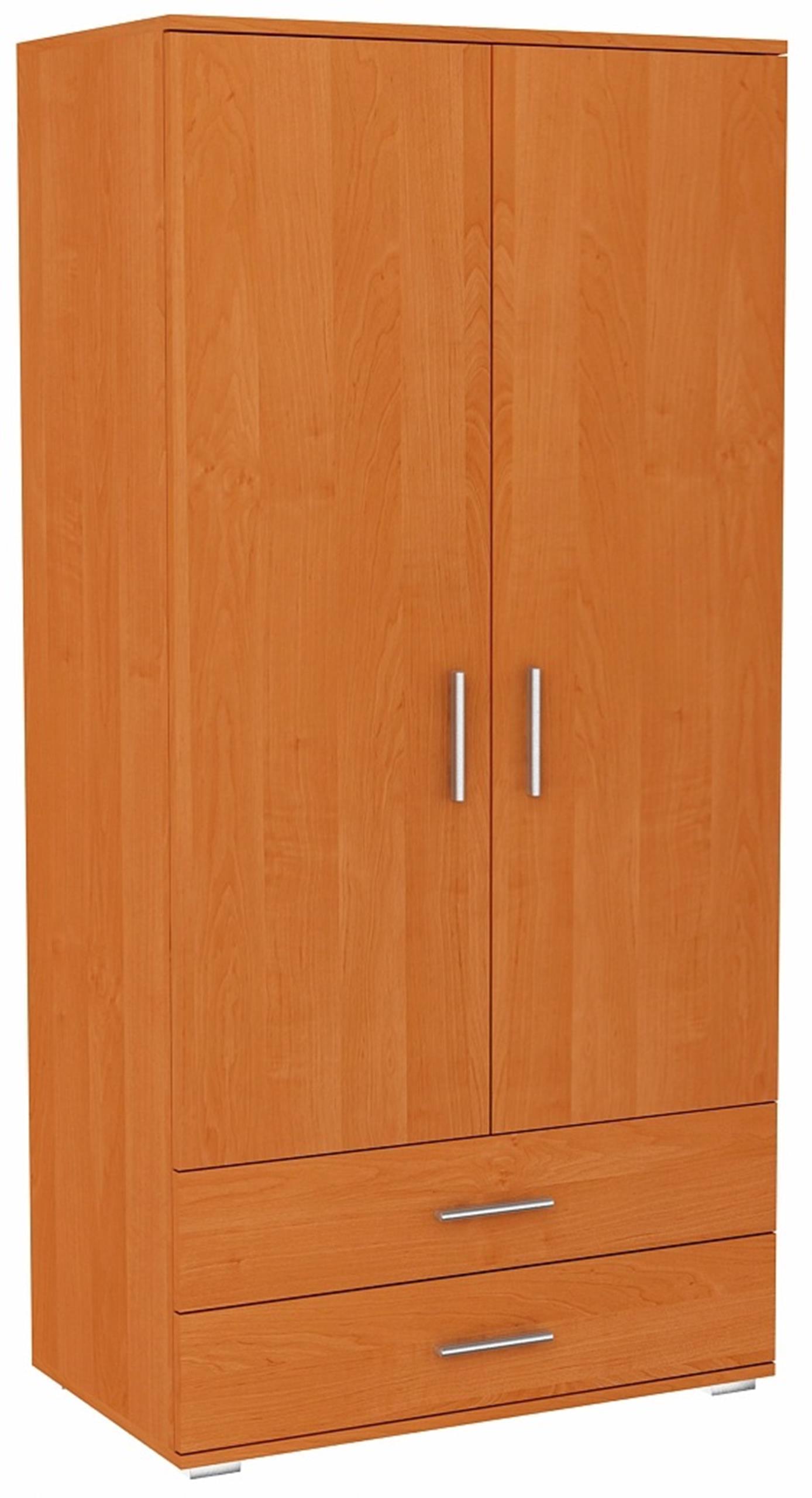 Шкаф двое дверей BODO 2D2S Ольха 2 ящики Стеллаж