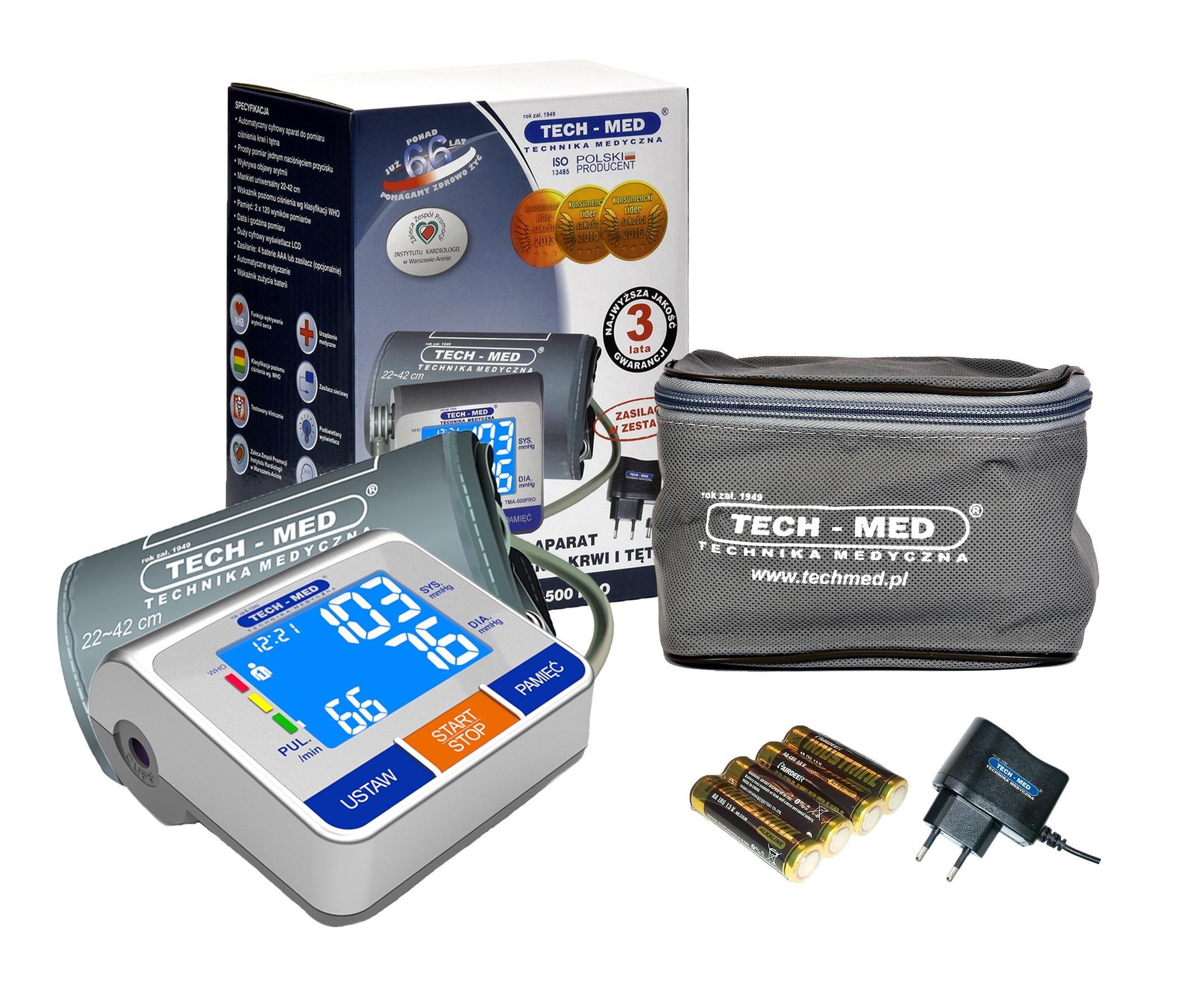 Tech-Med TMA 500 Pro Dumber + Napájanie