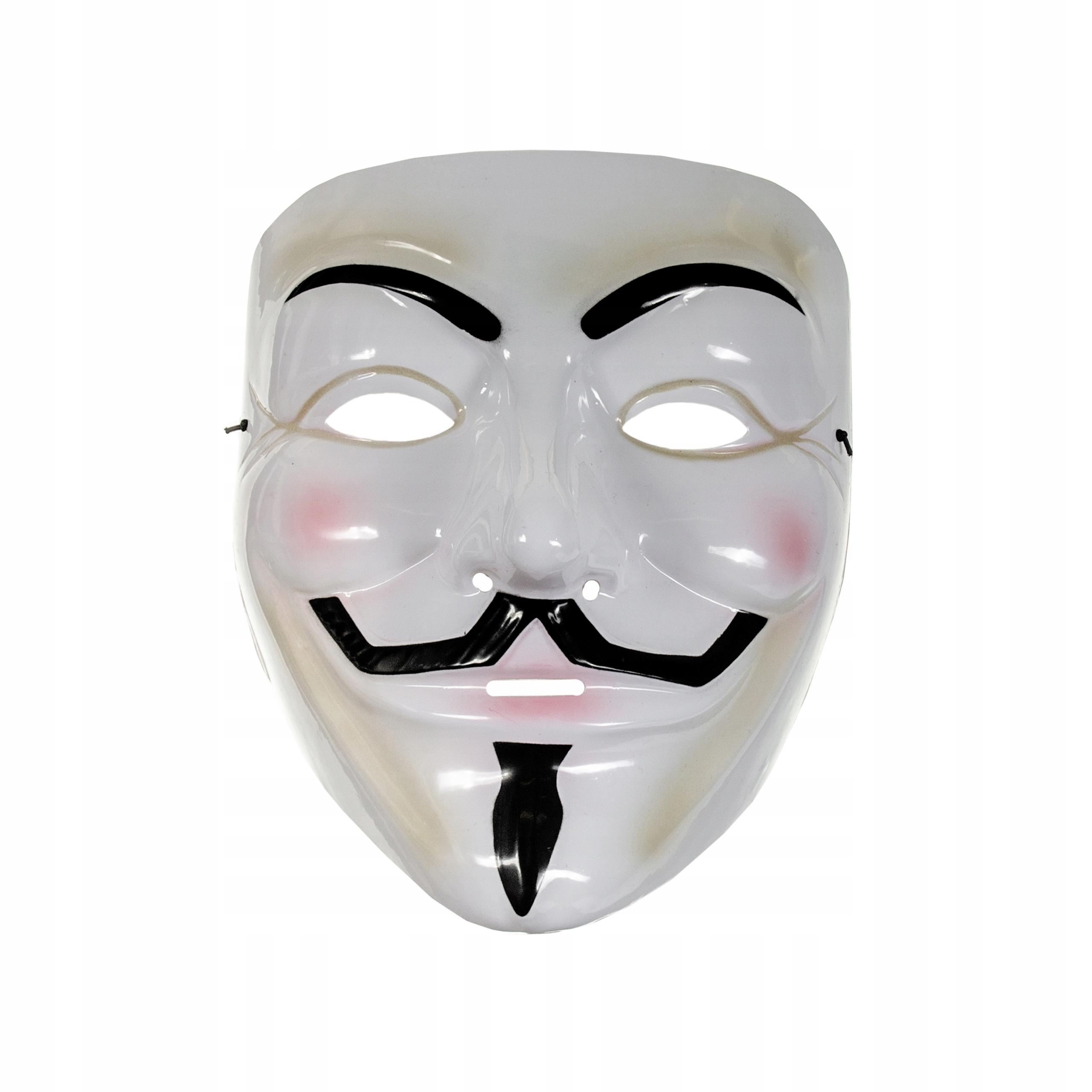Maska Anonymous Guy Fawkes V For Vendetta Acta 5008767764 Allegro Pl