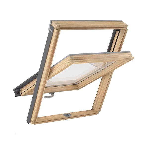 мансардное окно OPTILIGHT 78x140 + фланец