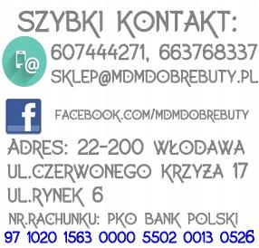 Buty damskie ARKA 5868 czarne czółenka r.41