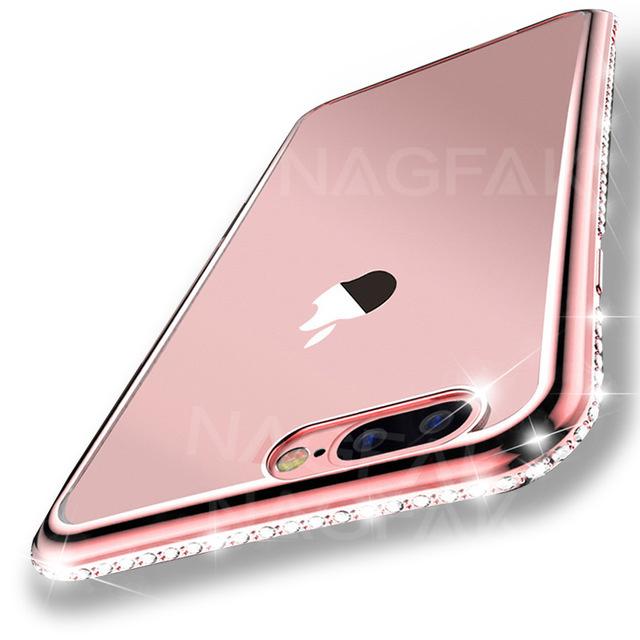 Etui Iphone 7 Cyrkonie Case Silikonowe Swarovski 6916814250 Sklep Internetowy Agd Rtv Telefony Laptopy Allegro Pl