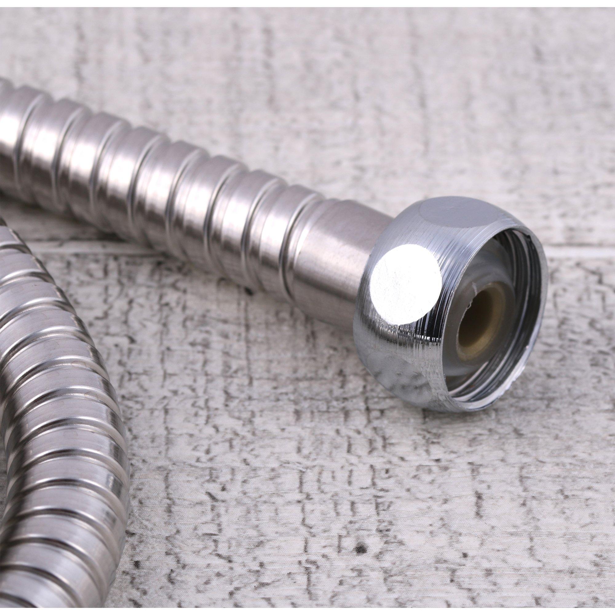 Wąż prysznicowy chromowany standardowy 120cm Zawartość zestawu wąż prysznicowy
