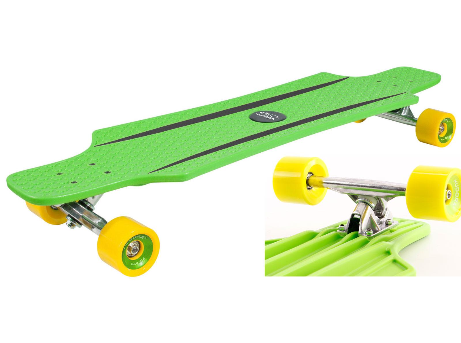 Skateboard Longboard Hudora ABEC7 CRUISESTAR 100KG