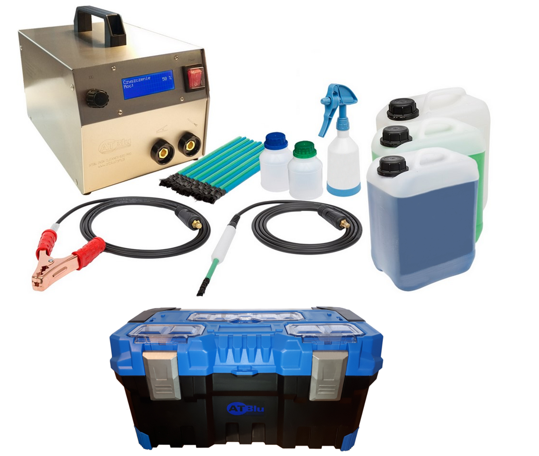 ATBlu INOX CLEANER 620 PRO czyszczenie spoin INOX