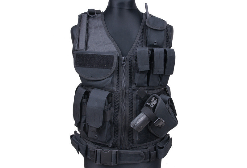Item PROTECTION of Convoys Vest tactical + HOLSTER and BELT