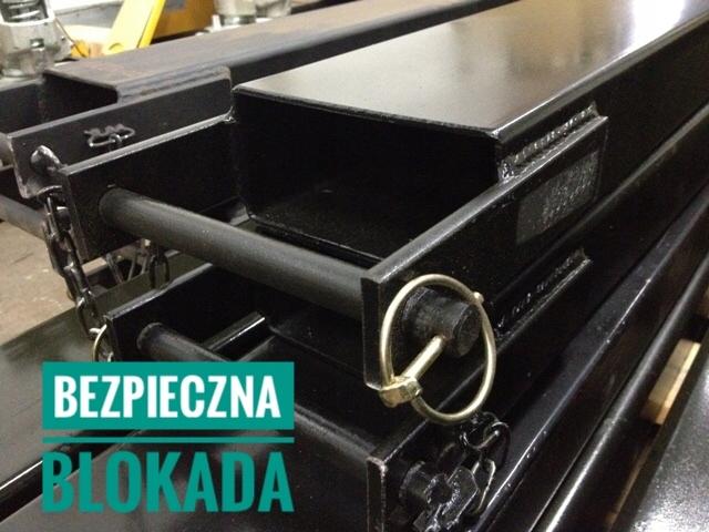 PRAILGINTUVAI SAKES do VEZIMELIO SAKINIO KRAUTUVO 1800mm 80x40mm