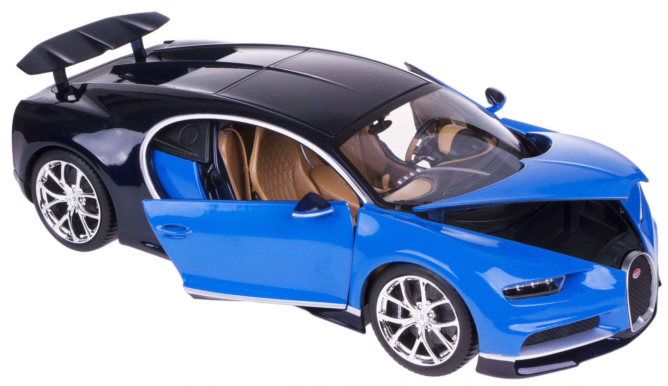 Bugatti Chiron Metal Model BBBBBAGO 1:18 BLUE
