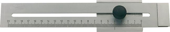Tvrdený formát strmeňa INOX 250mm