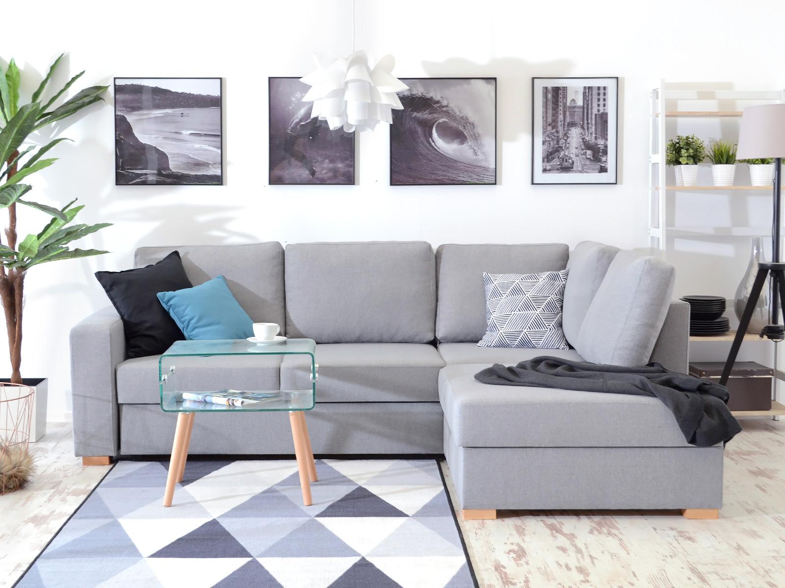 Stylish Corner Sofa Pat New Poleur