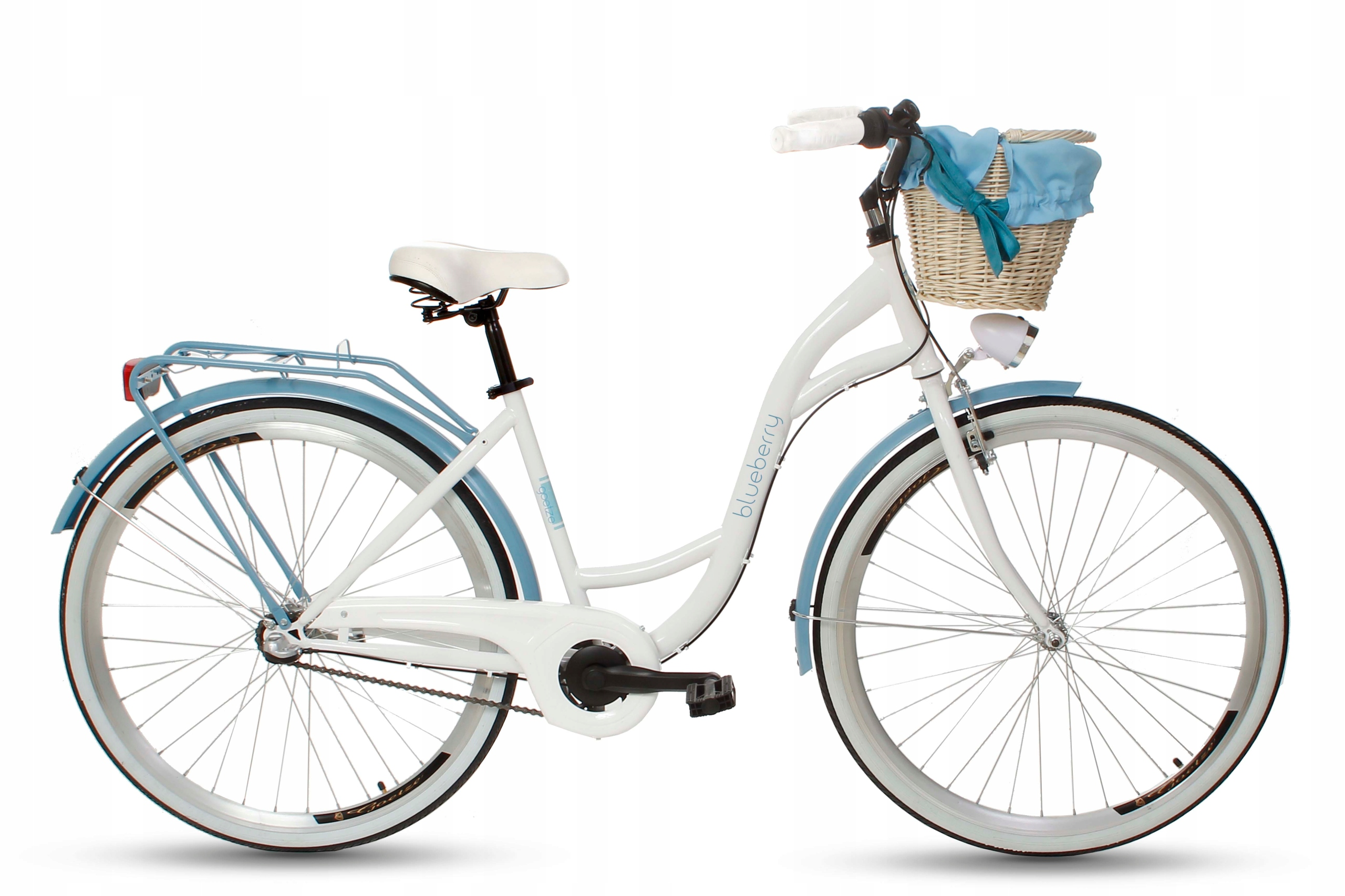 "Dámsky mestský bicykel Goetze BLUEBERRY 28 3b košík!  Veľkosť kolies ("") 28"