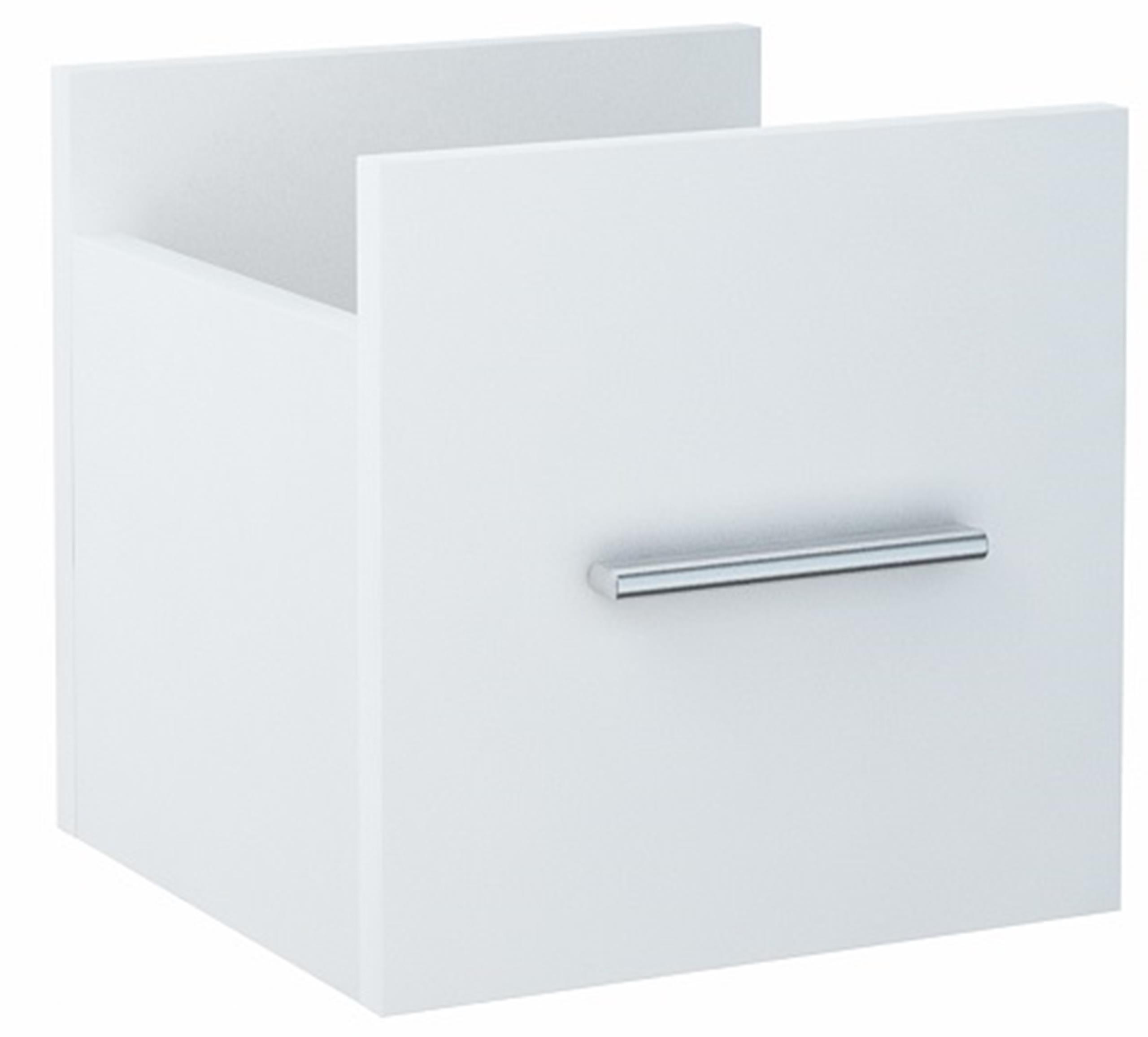 Szufladka szuflada do regału MODUS biała