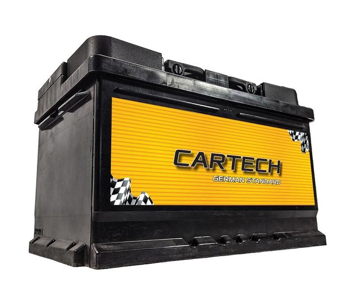 аккумулятор 12v 74ah 680a cartech быдгощ