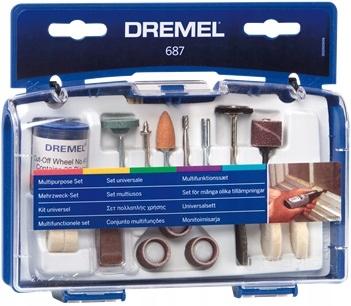 Zestaw uniwersalny (687) DREMEL - 52 akcesoriów