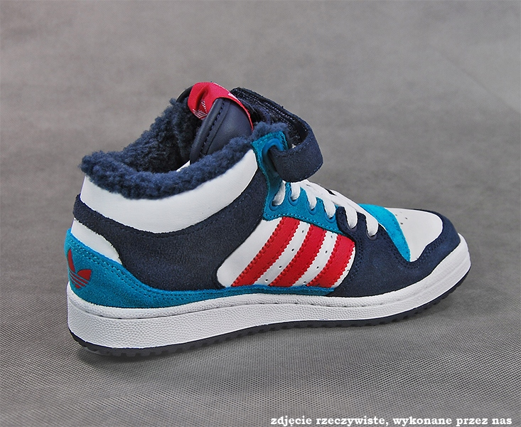 Adidas Buty damskie Decade Mid granatowo białe r. 39 13 (G64145)
