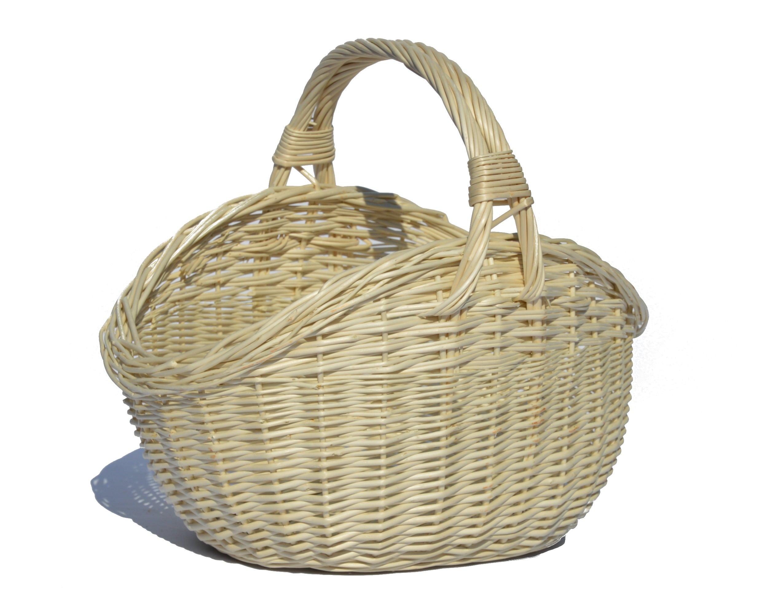 a0ef7ef37c1558 Kosz na zakupy WIKLINA koszyk na grzyby PREZENT 48 6493135501 - Allegro.pl