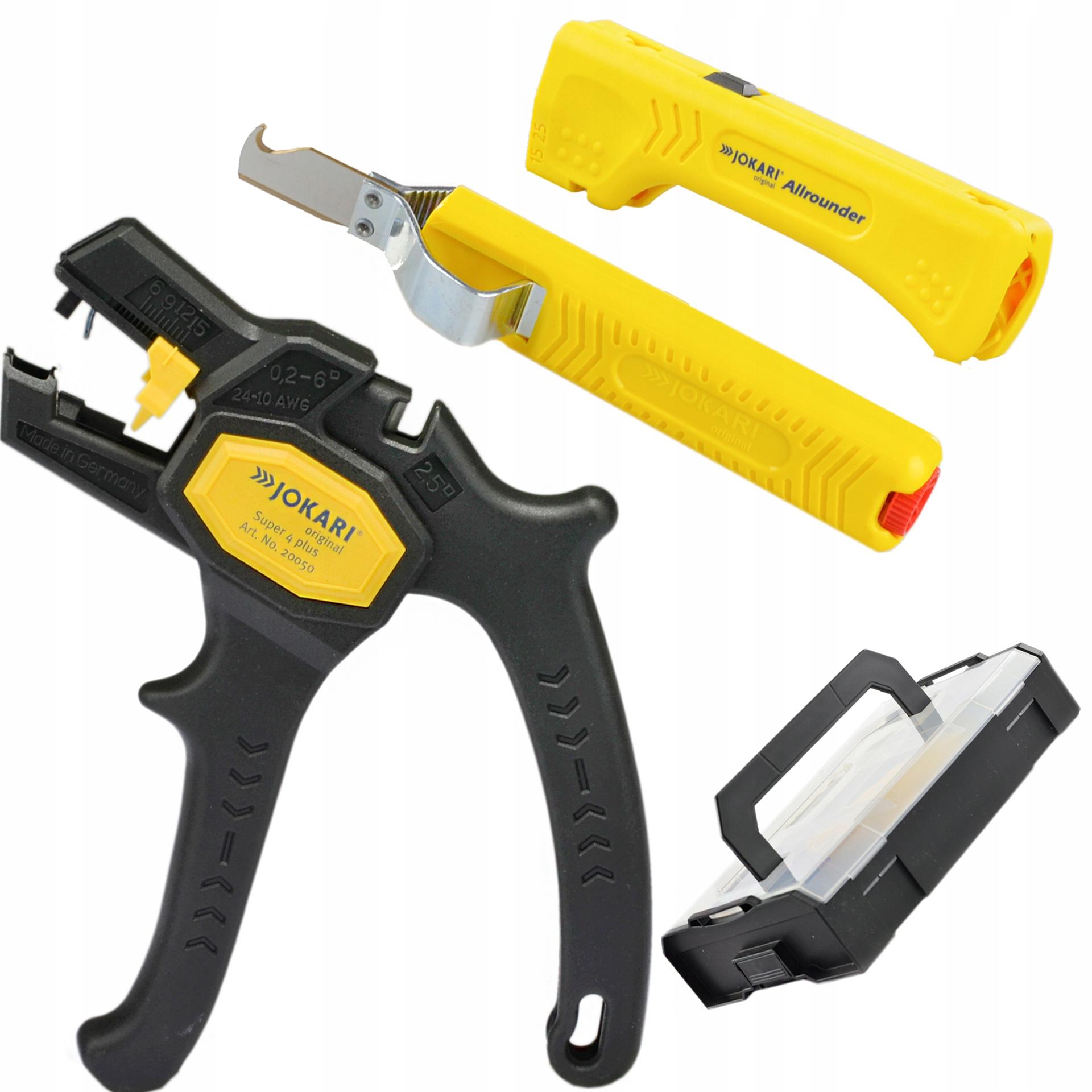 Клещи для зачистки ножей JOKARI 90810