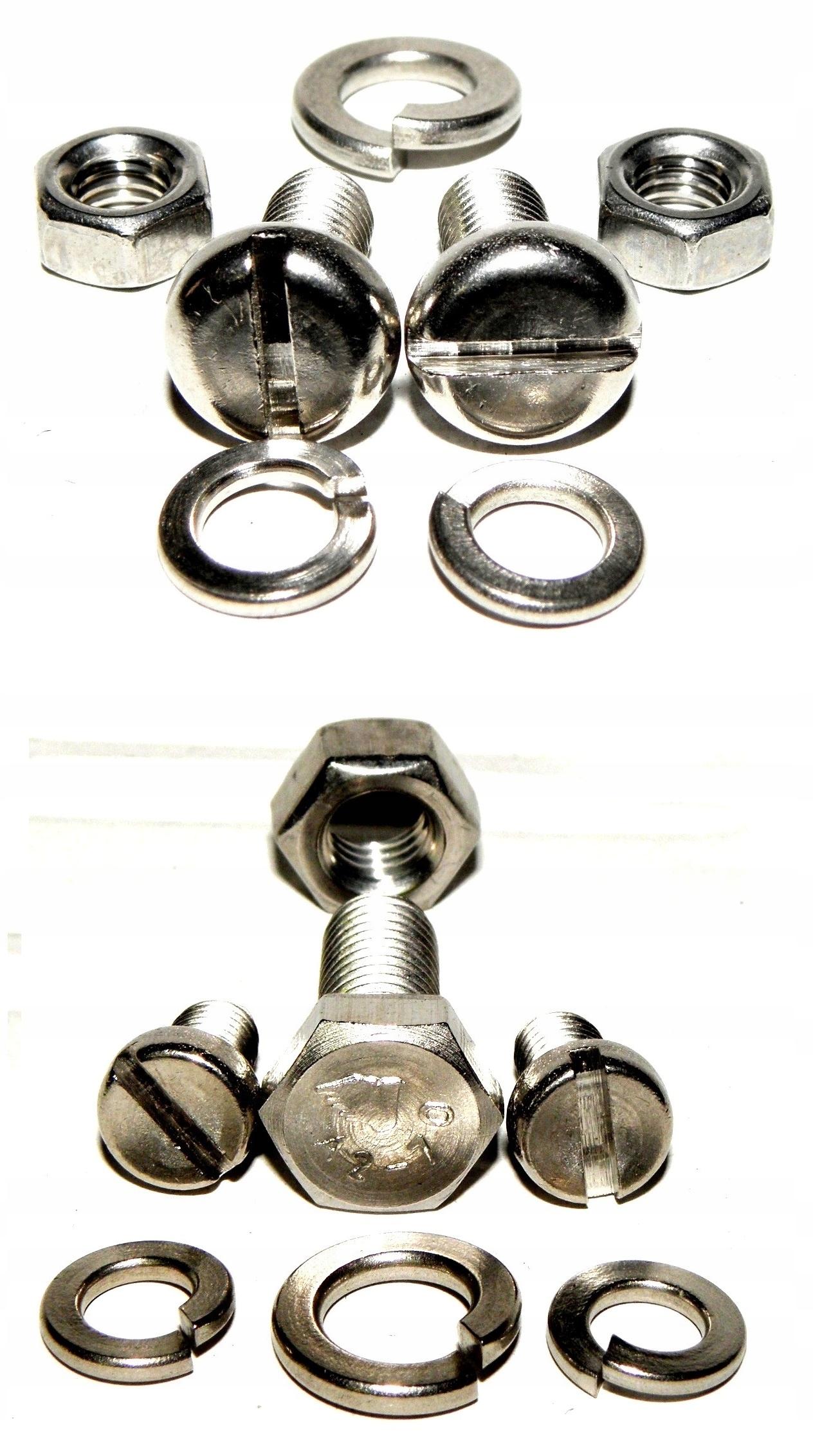 A SET BOLT WSK 125 M06 B3 + LANTERN HANDLES