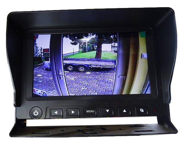System obserwacji przestrzeni / kamera cofania 7''