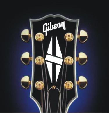 Gibson Symbol Diamond Hatch Custom Sticker Guitar