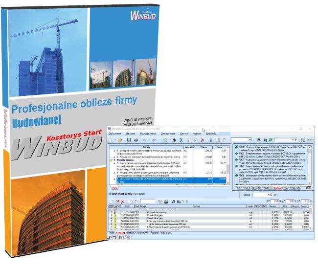 Купить Программы для составления сметы WINBUD Пуск на Otpravka - цены и фото - доставка из Польши и стран Европы в Украину.