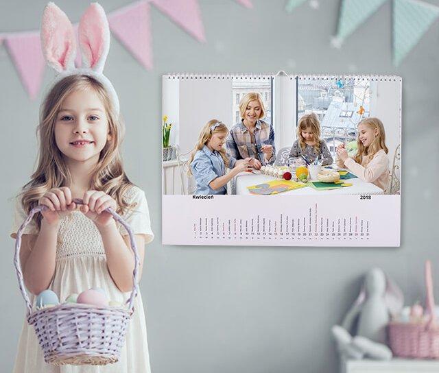 Фото-календарь A4 уровень ВАШИ ФОТОГРАФИИ, календари