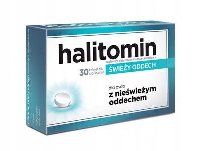 HALITOMIN świeży oddech 30 tabletek do ssania