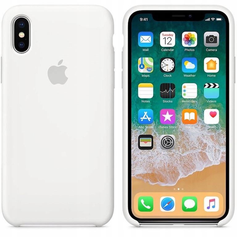 Etui silikonowe iPhone Xr (biały)