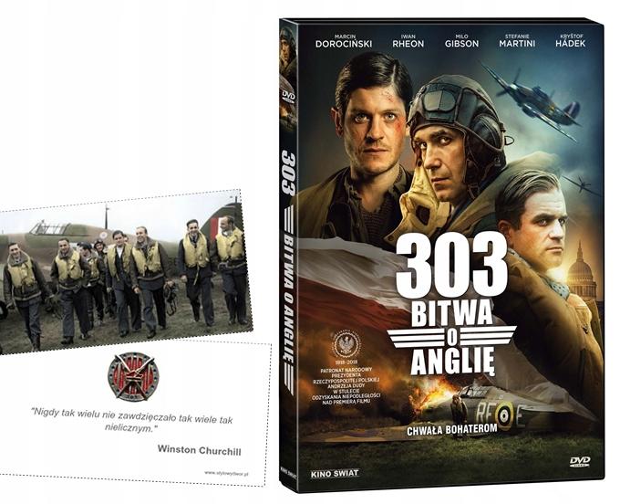 Дивизион 303 БИТВА ЗА БРИТАНИЮ DVD новый пленка + КАРТА доставка товаров из Польши и Allegro на русском