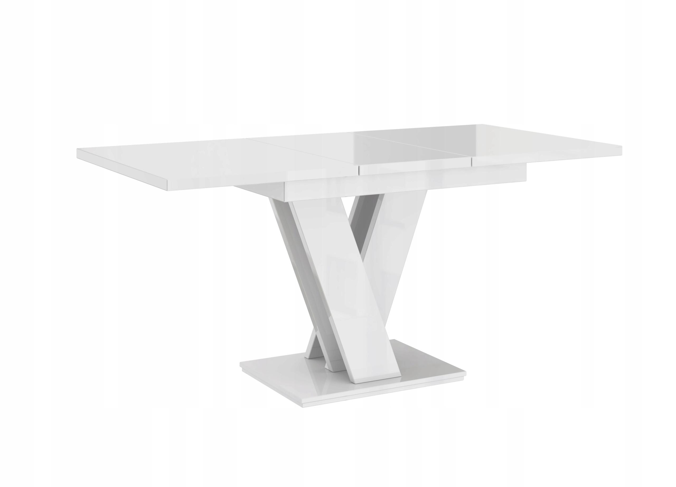 стол раскладной 120-160 Белый блеск 7 дней +