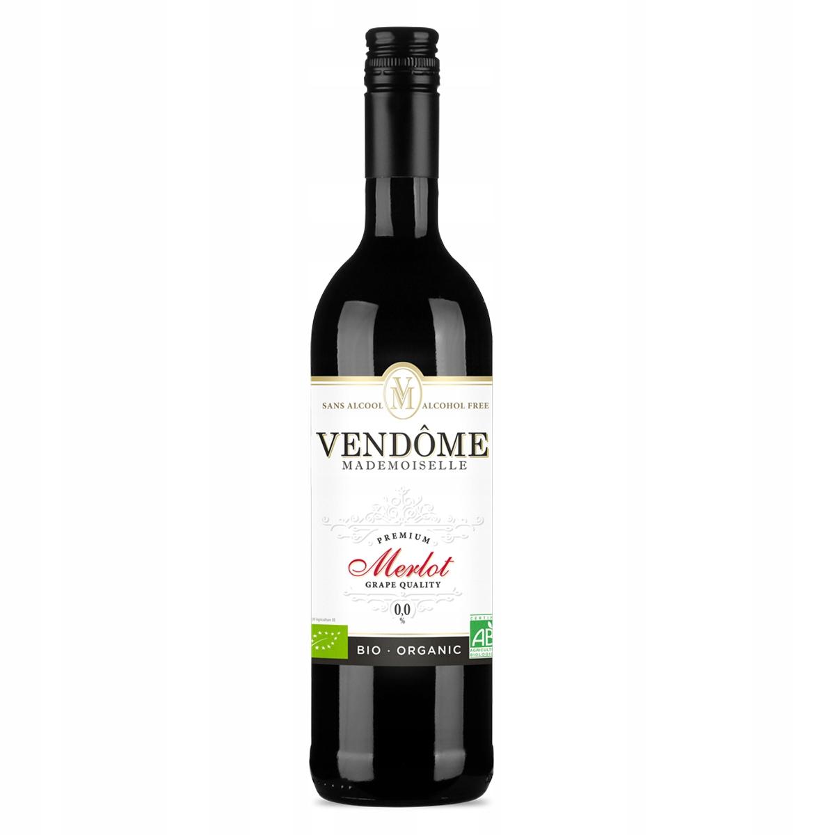 вино Безалкогольные напитки Vendome Мадемуазель Мерло био