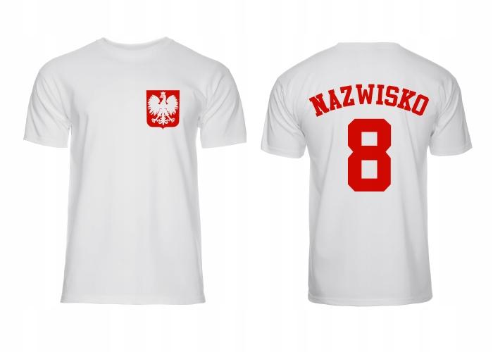 Poľské tímové tričko - Super vzory